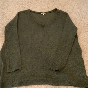 Oversized piko sweater